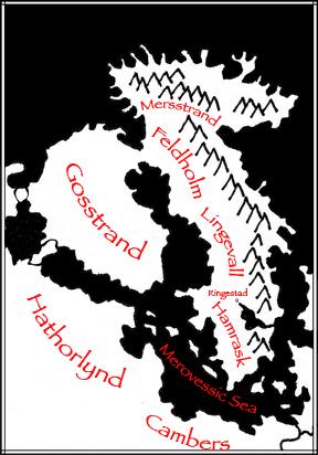 map of Silmaren