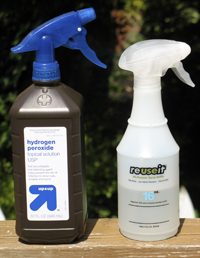 photo of safe cleaning solutions