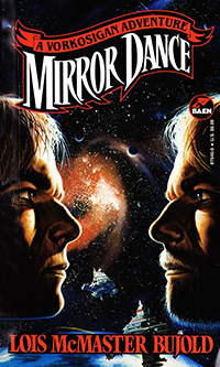 two brothers face off against a backdrop of outer space