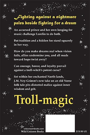 cover copy for Troll-magic