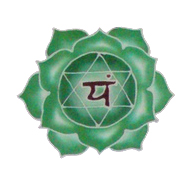 green flower symbol