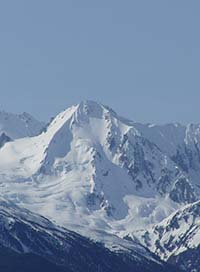 photo of the mountains of Haines, Alaska