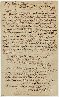 photo of old manuscript