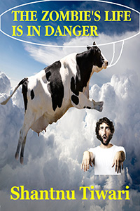 Soaring cow worries about threatened zombie