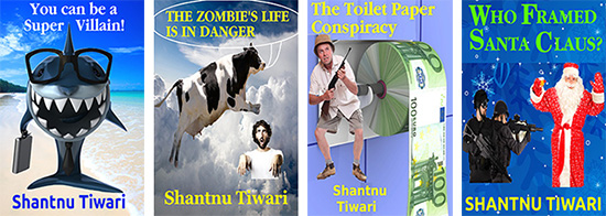 Shantnu Tiwari&#039;s cover designs