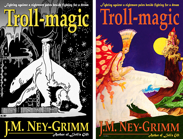 Two covers for Troll-magic