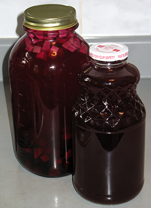 beet kvass, homemade