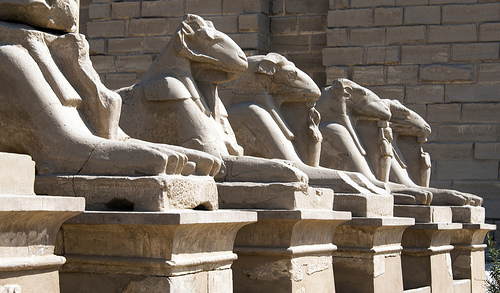 Karnak, photo by Christopher Michel, used under Creative Commons license, Flickr