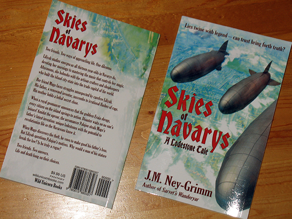 Skies of Navarys paperbacks