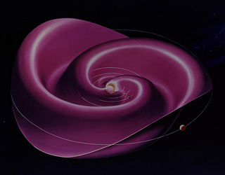 Artist's Conception of the Heliospheric Current Sheet