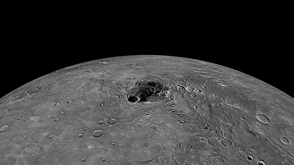 Mercury's north pole