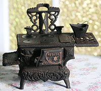 Cast-iron stove