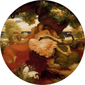 The Garden of the Hesperides by Frederic Leighton