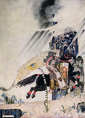 "Illustration by Kay Nielsen for ""The Widow's Son"""
