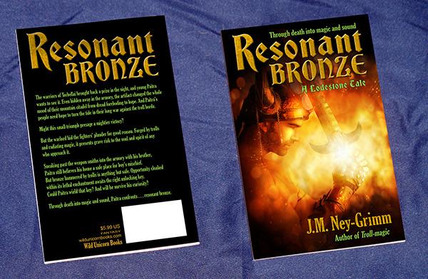 Resonant Bronze paperback