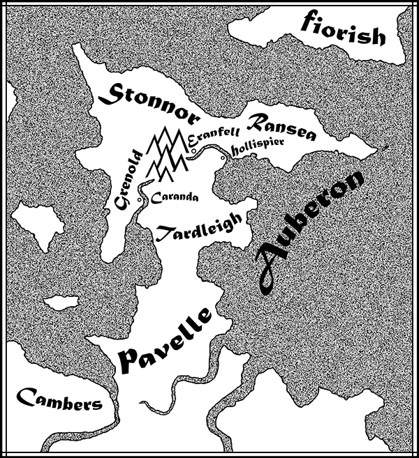 Map of Auberon