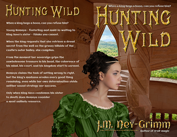 Hunting Wild back with text