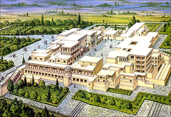 Artist's Rendering of Knossos
