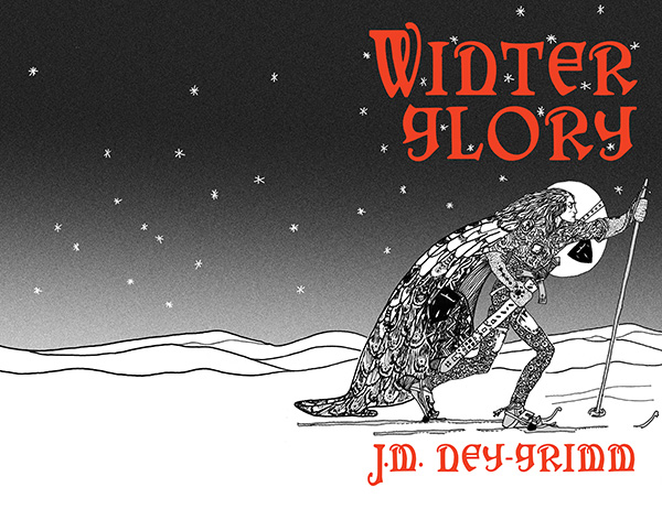 Adding title and byline to the cover for Winter Glory