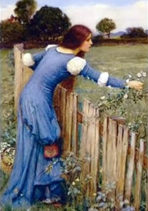 The Flower Picker by John William Waterhouse