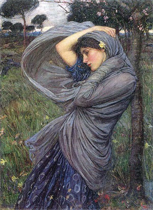 6 Boreas by John William Waterhouse