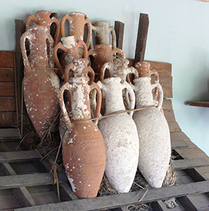 Stacked Amphorae