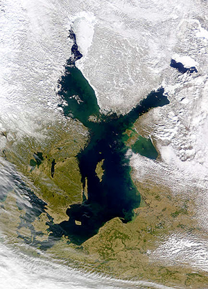 Baltic Sea, March 2000, NASA