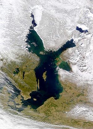 Baltic Sea, March 2000, NASA