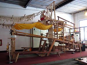 Nanjing brocade loom