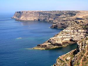 Gregale_cliffs_lampedusa