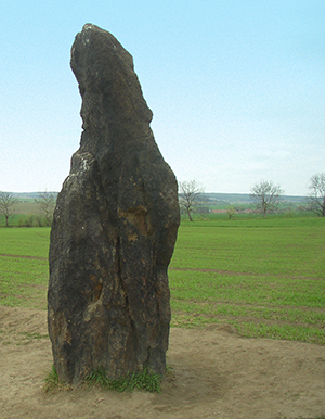 Standing Stone in the Czech Republic