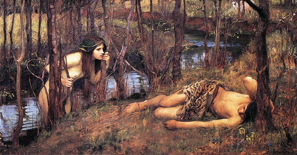 A Naiad by John William Waterhouse