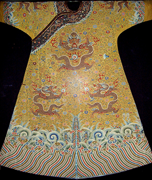 Dragon robe of the Chinese emperor Qianlong