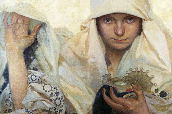 Fate by Alphonse Mucha
