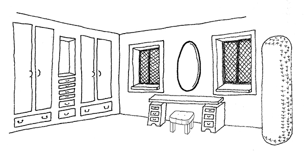 Nerine's room