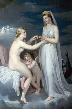Hera Borrowing the Girdle of Aphrodite by Guy Head