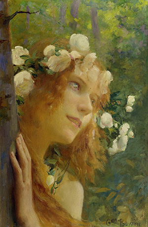 Nymphe by Gaston Bussière_