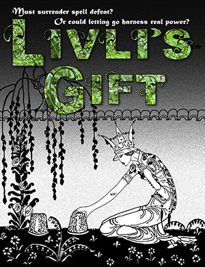Livli's Gift cover with Orial title