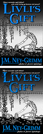 Livli's Gift, revised versus original cover