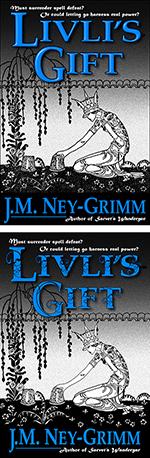 Livli's Gift, revised versus original cover