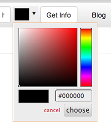 color picker at color-hex.com